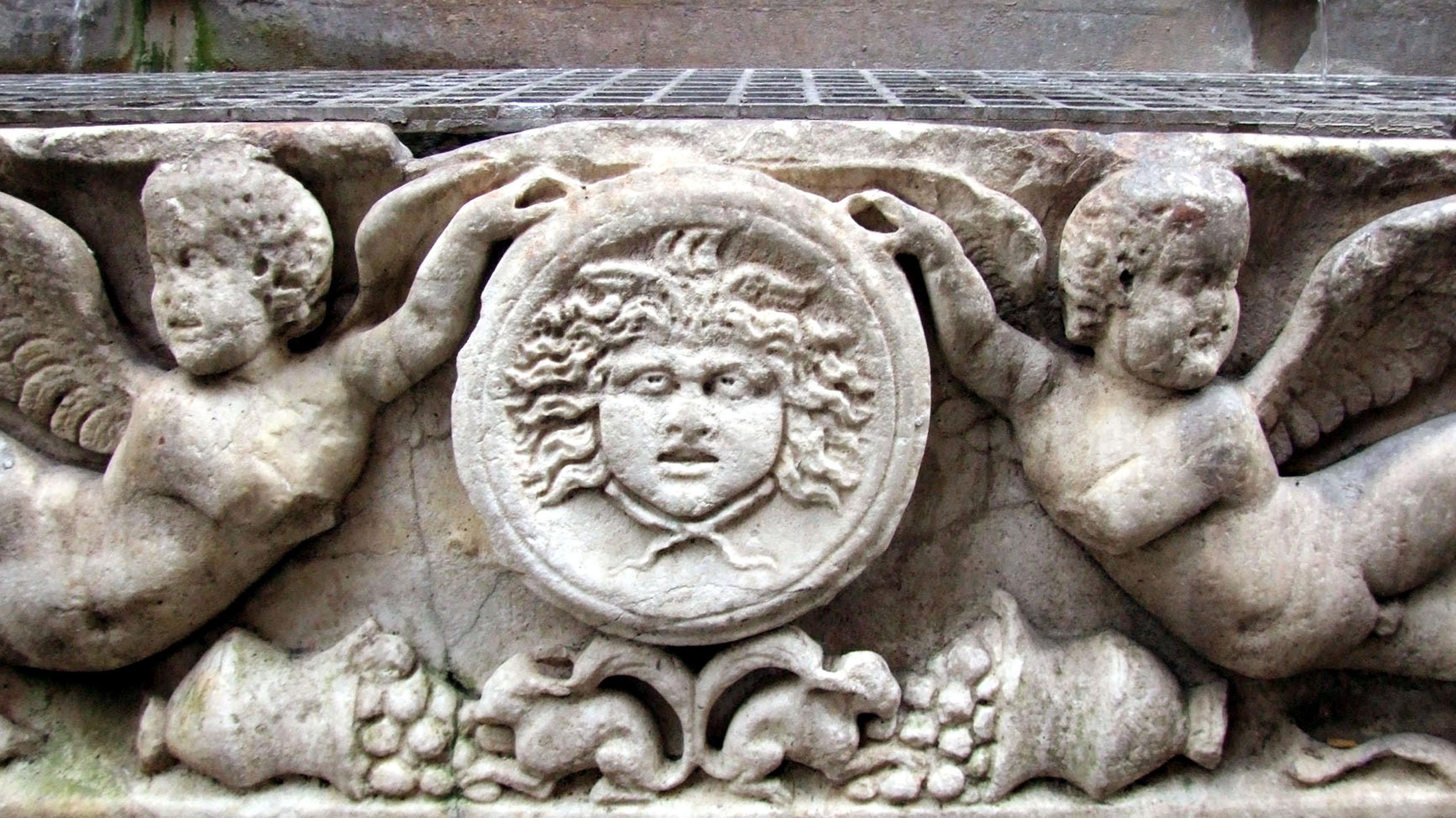 vierströmebrunnen rom figuren
